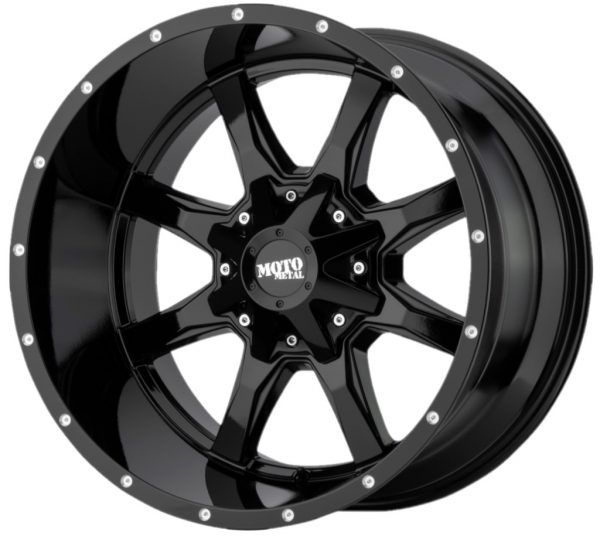 17 Moto Metal Mo970 17 8 8 6 5 Gloss Black Truck Wheel 0mm In 2020 Truck Wheels Wheel Rims Black Truck
