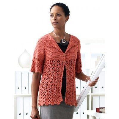 Breezy Bamboo Crochet Cardigan Pattern