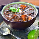 Black Bean Soup with Sweet Potatoes  - Forks Over Knives | Recipes