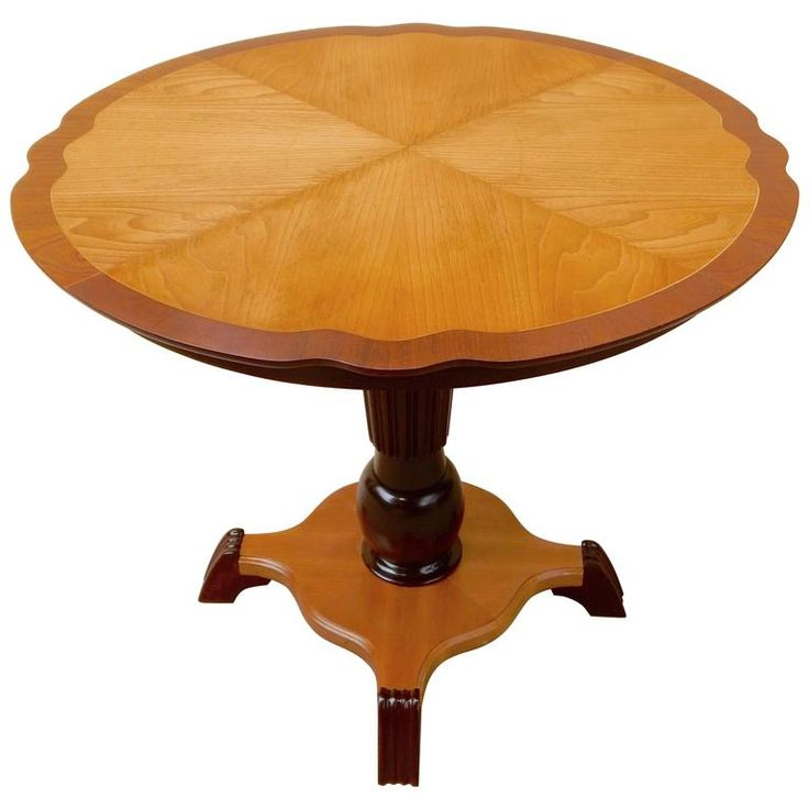 Swedish Art Moderne Game Table, circa 1940 | From a unique collection of antique and modern game tables at https://www.1stdibs.com/furniture/tables/game-tables/