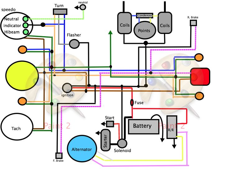 43 Best Motorcycle Car Images On Pinterest Cars Factories And: Suzuki Gn 125 Wiring Diagram At Bitobe.net