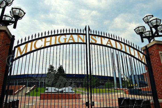 Ann Arbor. Home of Michigan Stadium. Big House