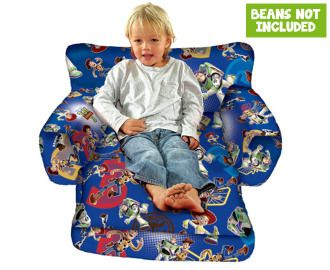 Toy Story Kids' Fold-Out Bean Chair Cover