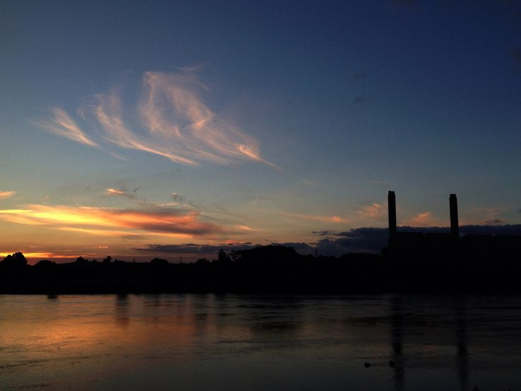 Huntly Power Station does give good sunset