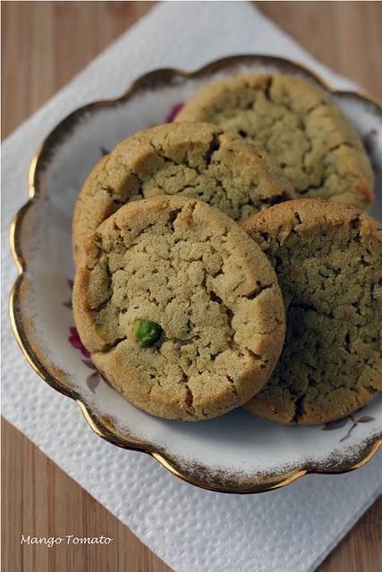 Pistachio Butter Cookies | Desserts | Pinterest