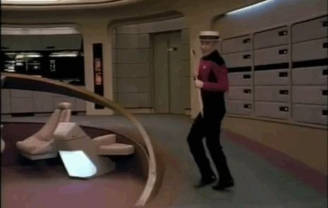 In fact, the internet is a wondrous place full of epic Patrick Stewart/Jean-Luc Picard GIFs. | 26 Times Patrick Stewart Made You Grin Like A Fool