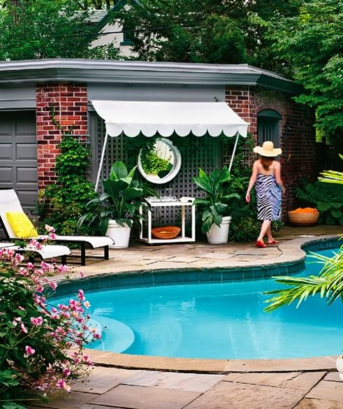 27 best images about poolside decor on pinterest for Pool area decor