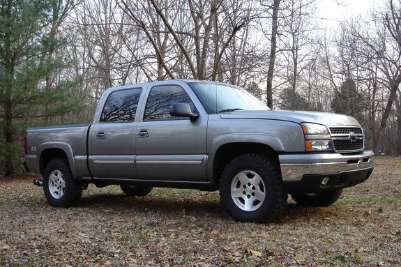 My latest ride!!  2006 Chevy Silverado, Crew Cab.