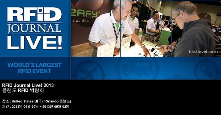 RFID Journal Live! 2013 올랜도 RFID 박람회