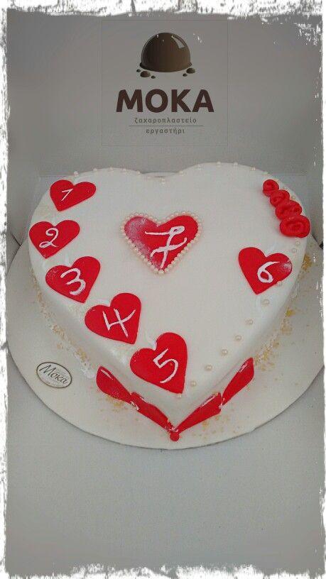 Love Cake #lovecake #zaxmoka