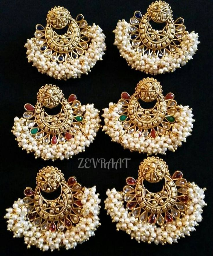 Earrings reduced to 6  #indian #indianjewellery #indianjewelery #indianjewelry #indianbride #indianbrides #indianbridal #earrings #bollywoodearrings #ramleelaearrings #jhumkas #jumkis #jhumar #jhoomar #mathapathi #mathapatti #kundan #polki #kundanjewellery #pakistanifashion #pakistanibrides #pakistanibridal #pakistanijewellery #desi #desifashion #desibrides #desibridal #desijewellery by zevraat