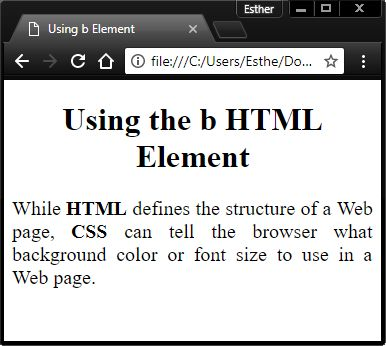 #Tutorial - Learn how to display bold text using #HTML https://webdevbyte.com/2017/10/31/how-to-display-bold-text-using-html/ #learning #webdevelopment #code #programming