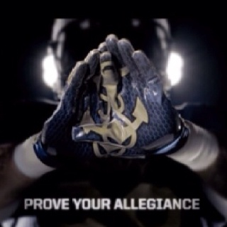 Game gloves for Navy  Army Navy Game of Honor