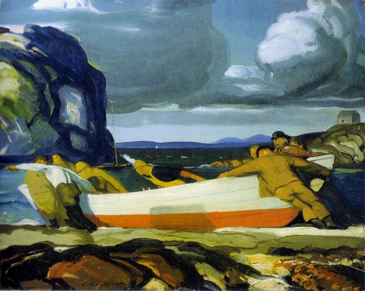 George Bellows, The big dory. 1913 (Met NY Dec 2012)