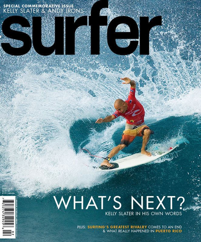 Kelly Slater, Surfer Mag 2/2011