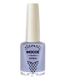 Verniz de Luxo - Verniz Inocos A Pipoca Mais Doce Inhos Pastel e Txarans Fluorescentes - Roxinho 9ml