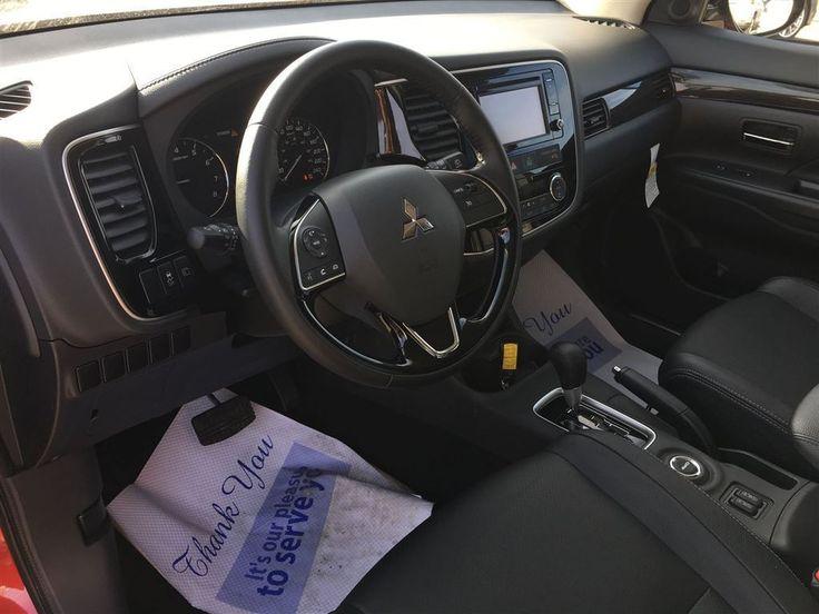 2016 mitsubishi outlander es premium leather interior sunroof suv