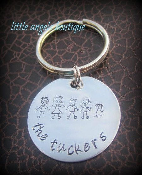 STICK Family Personalized Custom Hand by littleangelsboutique, $16.00