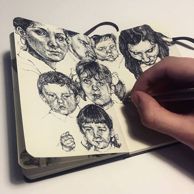 Filling up my notebook day by day! #art | WEBSTA - Instagram Analytics