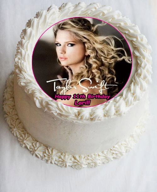 Taylor Swift Cake Topper-possible solution if paint yourself silly won't let me bring a cake
