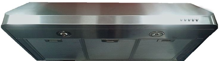 Verona VEHOOD3610 36 Inch Under Cabinet Range Hood with 600 CFM Internal Blower, Recirculating Option, 3 Speed Fan, 2 LED Lights and Rounded Seamless Edges