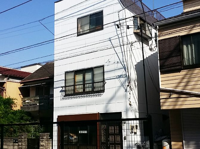 東京都葛飾区の外壁塗装・屋上防水工事の施工事例