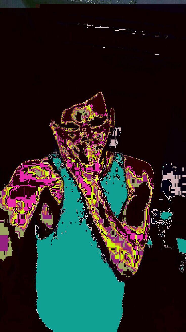 #glitch #boy #pixel
