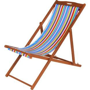 Buy Garden Deck Chair - Striped at Argos.co.uk - Your Online Shop  sc 1 st  Pinterest & 16 best Argos Seasonal images on Pinterest | Online shopping ... islam-shia.org