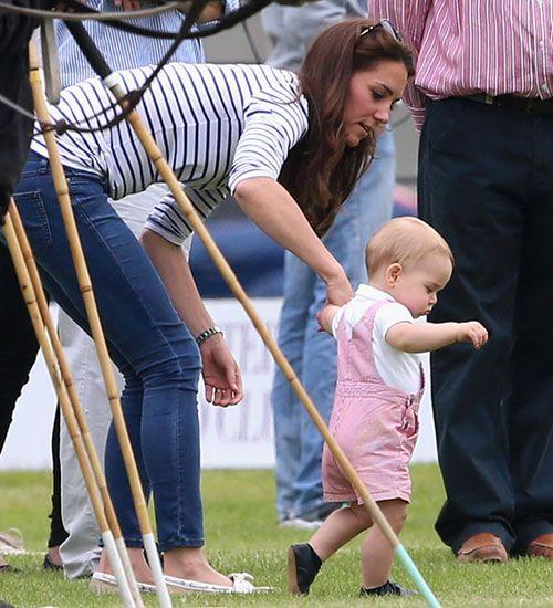 Kate Middleton Prens William ve George'un eğlenceli günü