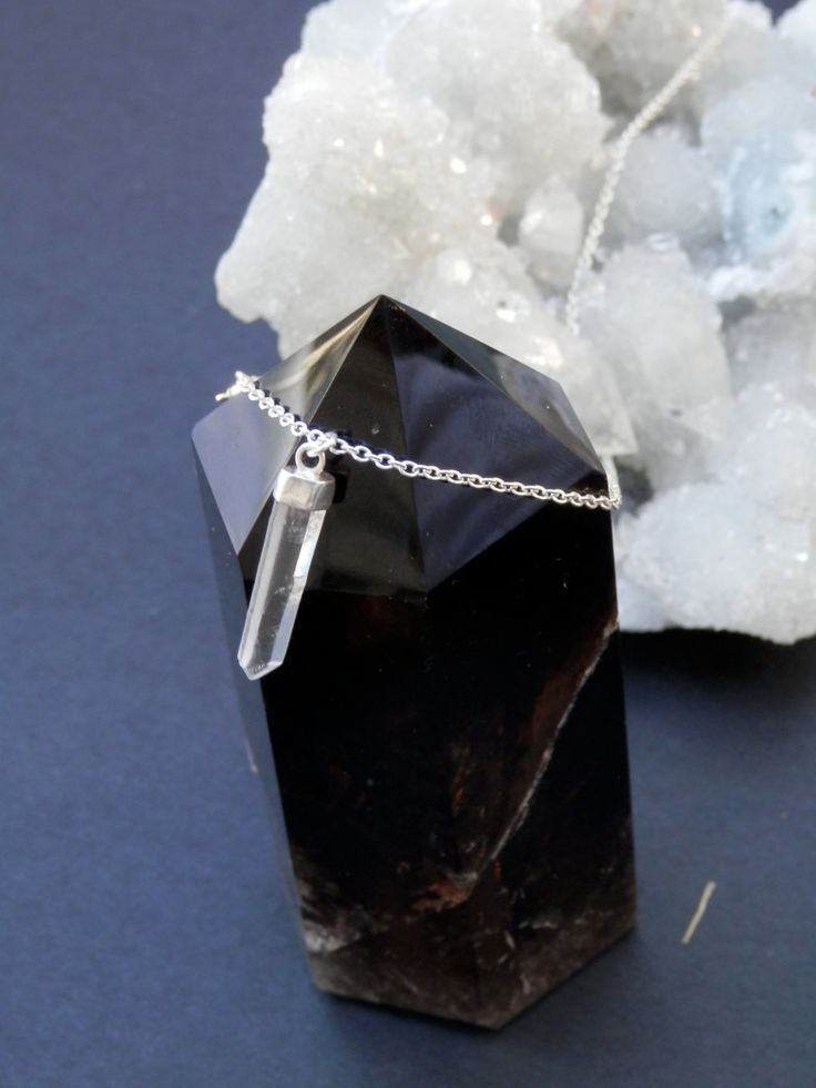 Small+clear+quartz+point+by+ImmortalEarth+on+Etsy,+$50.00