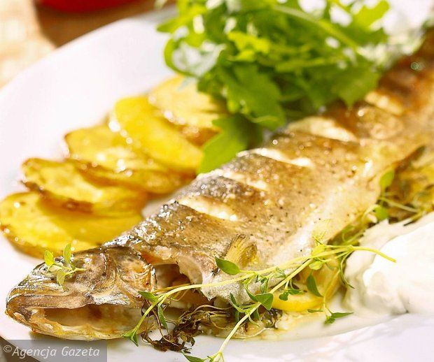 Pstr g trout sometimes flamb traditional polish for Authentic polish cuisine