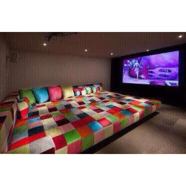 This would be cool.: Decor, Theater Room, Ideas, Movie Rooms, Tv Room, Dream House, Media Room, Movie Night, Dreamhouse