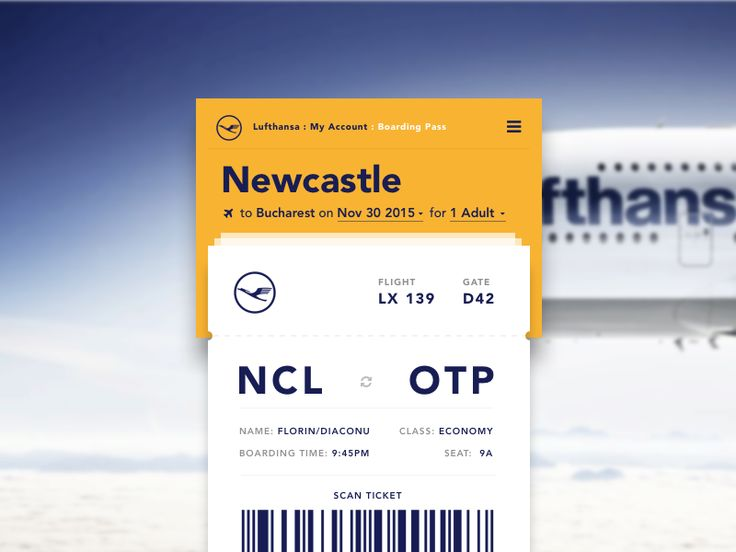 Best Boarding Pass Images On   Boarding Pass Mobile