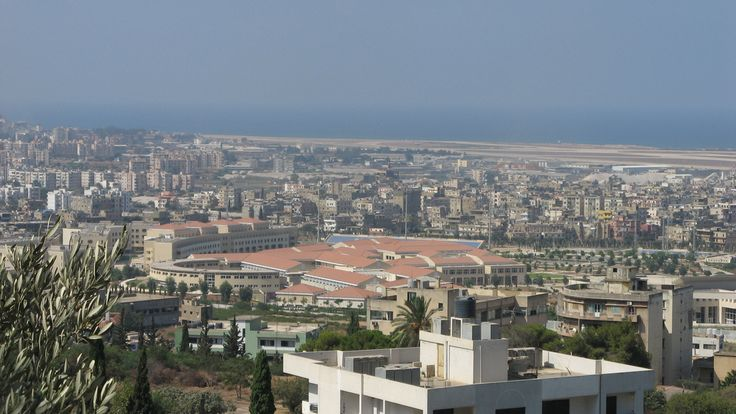 LEBANON, HADATH, LEBANESE UNIVERSITY & AIRPORT