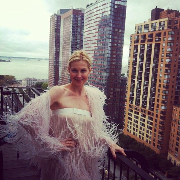 Spotted: dazzling Kelly Rutherford in Celia Kritharioti Haute Couture. We know you love her! XoXo