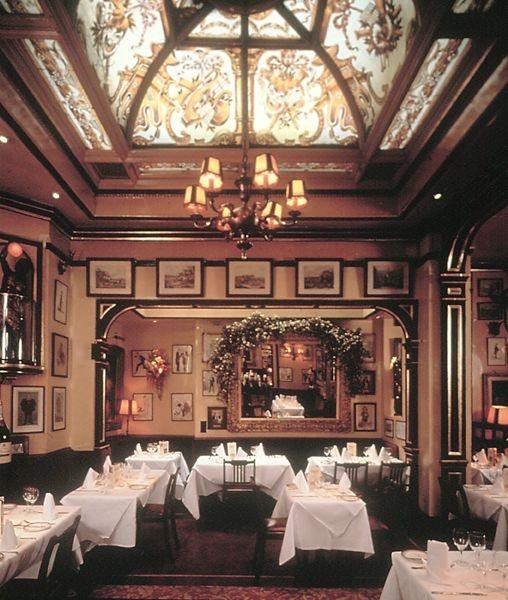 Rules Restaurant  35 Maiden Lane, Covent Garden, London.