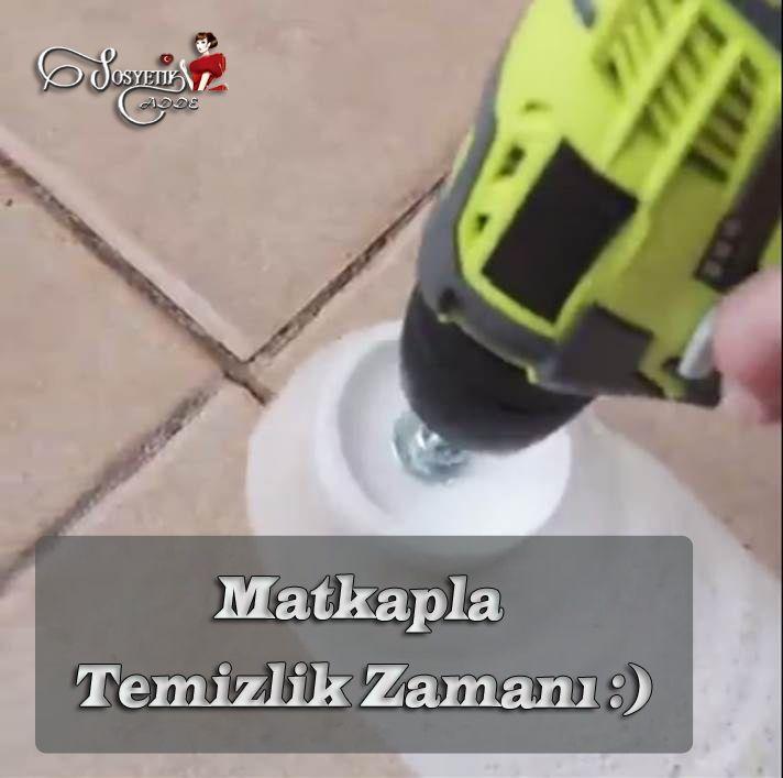 Matkapla Temizlik Zamanı www.sosyetikcadde.com