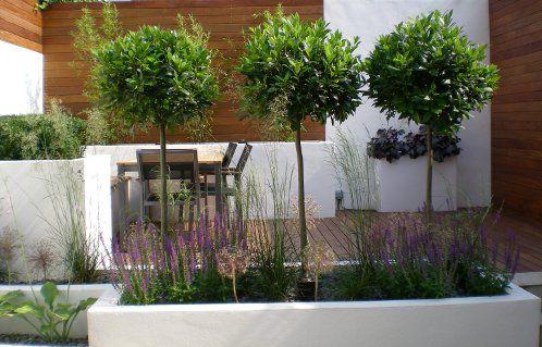 modern garden design battersea