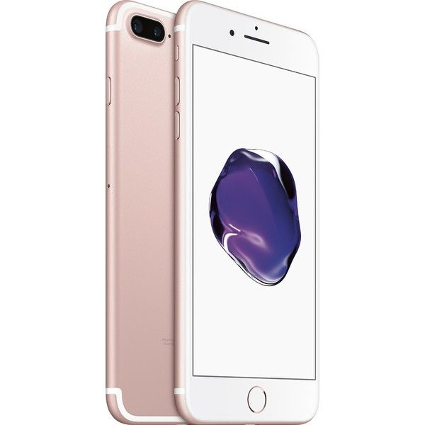 Apple Iphone 7 Plus 128gb Rose Gold Mn4c2ll A Best Buy 26 Liked On Polyvore Featuring Accessories And Tech Accesso Iphone 7 Plus Apple Smartphone Iphone