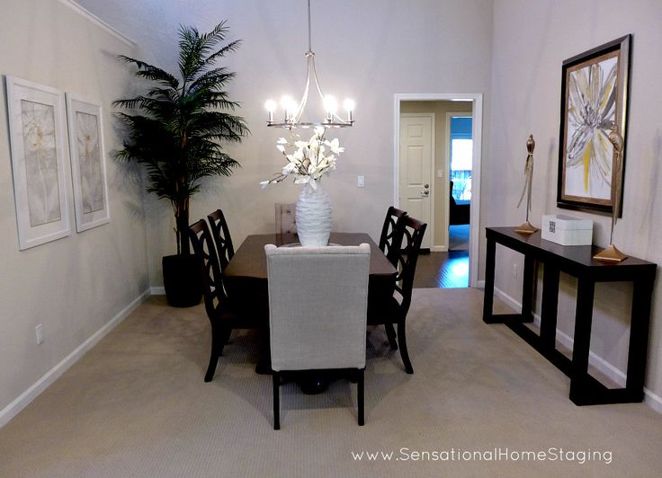 Formal Dining Room ~ Home Staged to SELL