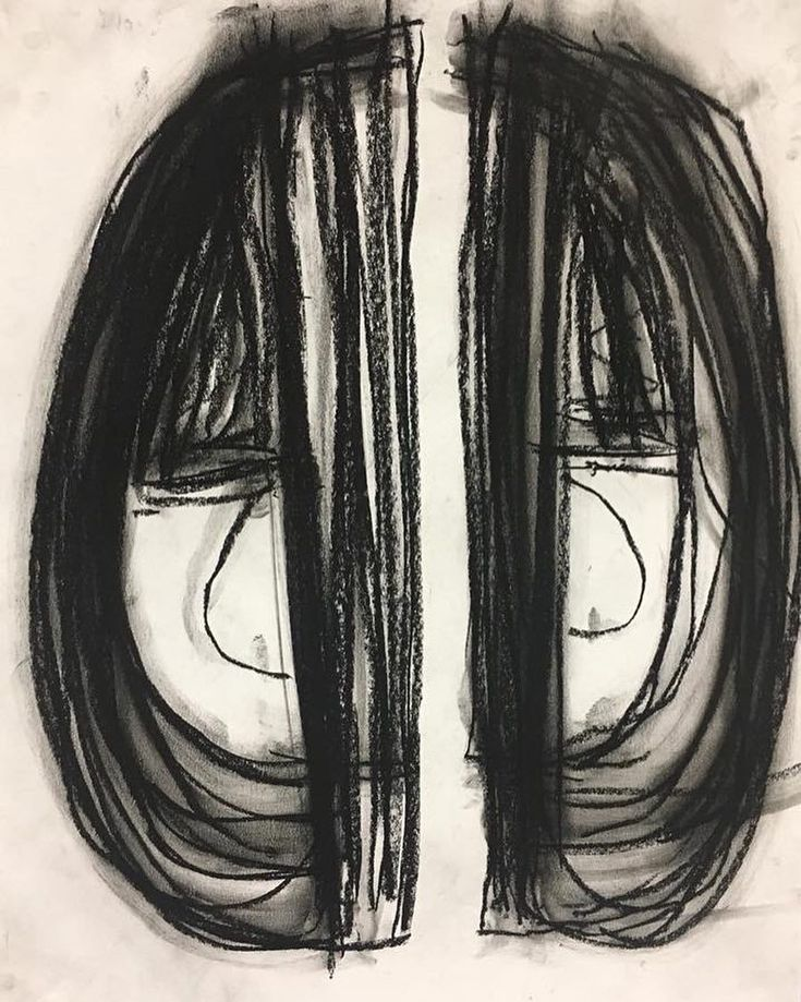 Jayden Berry is a third grade artist who channeled a lot of energy into his abstract charcoal drawing, inspired by contemporary artist, Heather Hansen. By repeating similar lines, Jayden created interest and movement to his drawing.  He demonstrated his understanding of Hansen's technique while adding his own style, a sign of a true artist! #artclass #arted #arteducation #artteacher #artteachers #artteachersofinstagram #oes220 #elementaryart #iteachart #iteachtoo #teachersfollowteachers