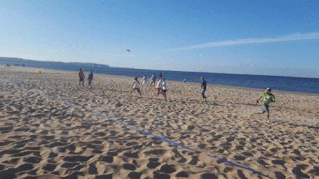 Ultimatum Gdańsk at the beach training!