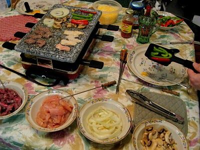 Raclette meal ideas