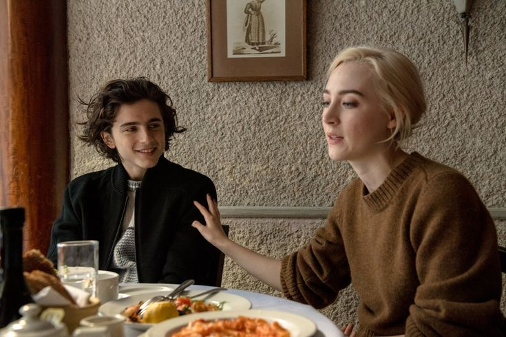 How to Come of Age Onscreen? Saoirse Ronan and Timothée Chalamet Know - The New York Times.