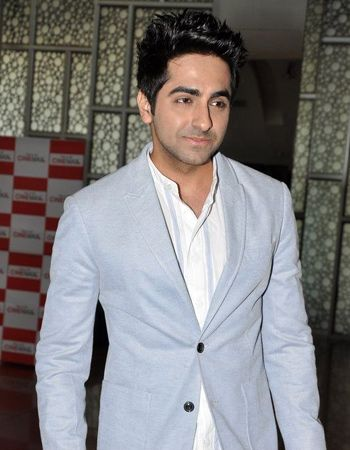 Ayushmann Khurrana feels lucky to act and sing in his movies!