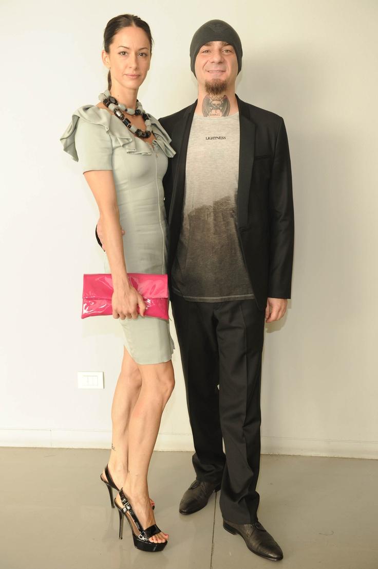 Emporio Armani Menswear SS13 Show - Elaina Coker, J-Ax