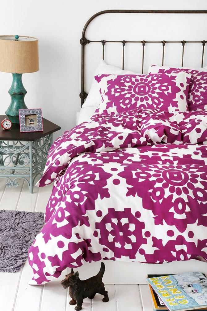 10 Home Interior Ideas In Radiant Orchid: New Color Trend - Radiant Orchid