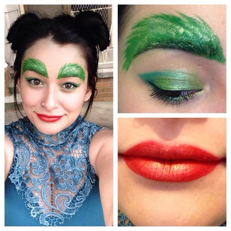 Poison ivy inspired  My own look  Instagram: Rolena1
