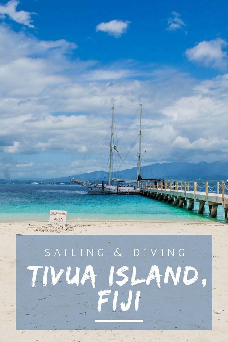 Set sail for Tivua Island, Fiji - quite possibly our favourite Fiji island so far!