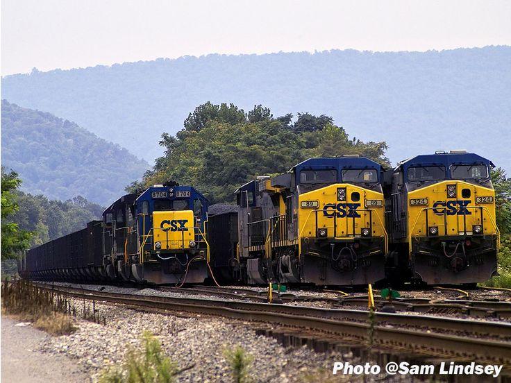 167 Best CSX Railroad Images On Pinterest